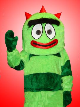yo gabba gabba brobee for kids parties in new jersey